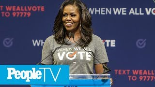 Download Michelle Obama Says She 'Stopped Even Trying To Smile' During Donald Trump's Inauguration | PeopleTV Video