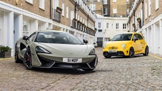 Download Photoshoot With My McLaren 540C & Abarth 695 Video
