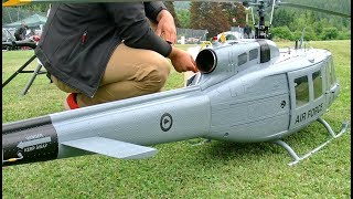 Huge Scale RC Helicopter - Bell 205 ″Huey″ Free Download Video MP4