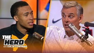 Download RJ Hampton explains his choice to skip college, who inspired him & his preparation | NBA | THE HERD Video