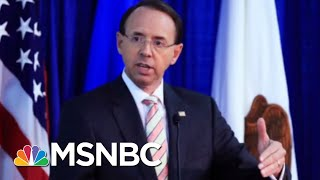 Download NY Times Story May Give Donald Trump Excuse He Seeks To Fire Rod Rosenstein | Rachel Maddow | MSNBC Video