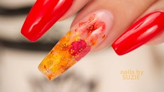 Download Gel Inlay with Real Flowers Video