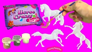 Download Breyer Stablemate Horse Crazy Surprise Painting Kit Mystery Blind Bag Custom Horses Craft Toy Video