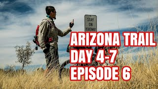 Download Falls, Night Biking, Poop Water, New Friends. Arizona Trail Day 4-7. Bikepacking Episode 6. Video