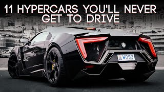 Download 11 Hypercars You'll Never Get To Drive Video