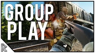 Download ESCAPE FROM TARKOV GROUP PLAY ON CUSTOMS Part 1! (Escape from Tarkov Gameplay #5) Video