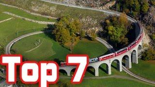 Download top 7 beautiful railway journeys in switzerland Video