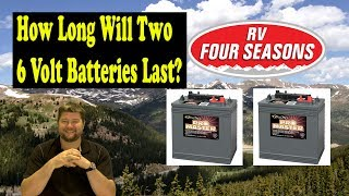 Download How Long Will Two 6 Volt RV Batteries Last? Video