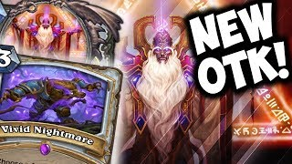 Download NEW VELEN OTK PRIEST WITH VIVID NIGHTMARE | THE WITCHWOOD | HEARTHSTONE | DISGUISED TOAST Video