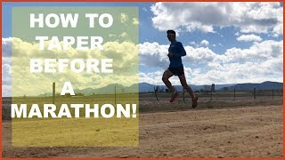 Download HOW TO TAPER BEFORE A MARATHON (OR HALF MARATHON /ULTRA) Sage Canaday Running Training Video