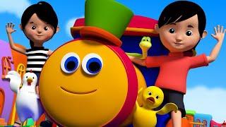 Download Bob o trem   Rimas e canções de berçário para crianças   Vídeos de desenhos animados para crianças Video