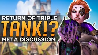 Download Overwatch: RETURN of Triple TANK!? - Moira Meta Discussion Video
