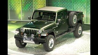 Download 2019 Jeep Wrangler Pickup Called 'Gladiator' Video