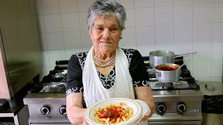 Download Pasta Grannies discover ferricelli pasta made by 93 year old Rosa! Video