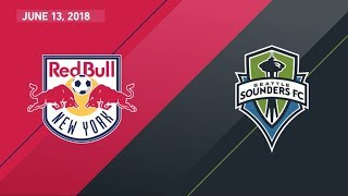 Download HIGHLIGHTS: New York Red Bulls vs. Seattle Sounders FC | June 13, 2018 Video