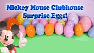 Download Opening Mickey Mouse Funny Surprise Eggs and Toys with the Assistant Video