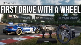 Download Gran Turismo Sport - My First Online Races With A Wheel Video