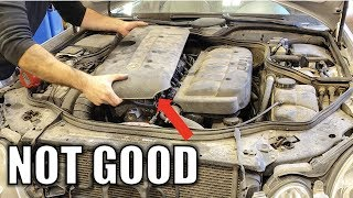 Mercedes e220 cdti timing chain replacement Free Download Video MP4