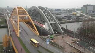 Download ProRail Spoorverdubbeling Utrecht - Live Webcam 2 - Plaatsing spoorbrug 17 t/m 20 nov Video