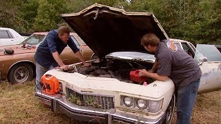 Download Picking a Junkyard Engine for a 1973 Buick Century Restomod - MuscleCar S5, E4 Video