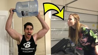 Download WATER BOTTLE FLIP CHALLENGE GONE VERY WRONG!!! Video