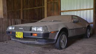 Download DeLorean Barn Find that hasn't seen light in over 32 years Video