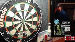 Download Rattlesnake vs The Donn -WDA Darts Video