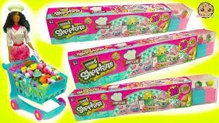 Download Chef Barbie Shops for 60 Season 6 Shopkins - 20 Mega Packs with Surprise Recipe Club Blind Bags Video