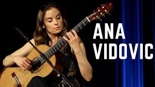 Download Ana Vidovic plays Granada by Isaac Albéniz on a classical guitar – guitare classique - クラシックギター Video