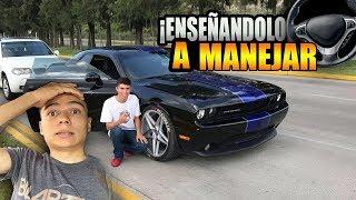 Download ENSEÑO a MANEJAR al CHOCOTORRO en mi CHALLENGER│ManuelRivera11 Video