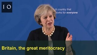 Download Britain, the great meritocracy: Prime Minister's speech Video