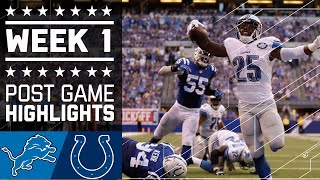 Download Lions vs. Colts | NFL Week 1 Game Highlights Video