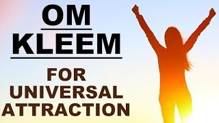 Download OM KLEEM : MANTRA FOR UNIVERSAL ATTRACTION : VERY POWERFUL ! Video