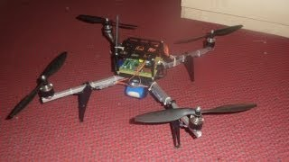 Download Raspberry Pi powered quadrocopter Video