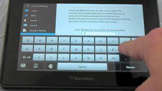 Download How to factory reset the BlackBerry PlayBook Video