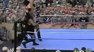 Download The Undertaker vs Johnny Nitro - Tribut To The Troops 2006 Video