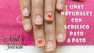 Download Uñas de acrilico para principiantes sobre uña natural y retiro paso a paso Video