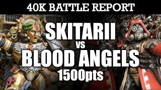 Download Skitarii vs Blood Angels 40K Battle Report DANTE'S INFERNO! 7th Ed 1500pts | HD Video
