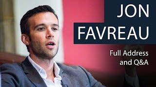 Download Jon Favreau | Life as Obama's Speechwriter | Full Address and Q&A Video