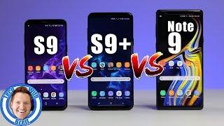 Download Samsung Galaxy S9 vs S9+ vs Note 9 Full Comparison Video