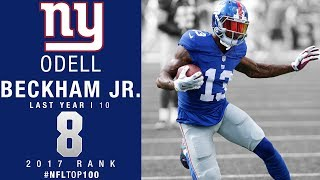 Download #8: Odell Beckham Jr. (WR, Giants) | Top 100 Players of 2017 | NFL Video