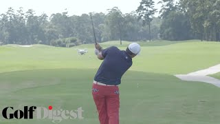 Download Patrick Reed Tries to Knock A Drone Out Of The Sky with a Golf Ball | Golf Assassins | Golf Digest Video