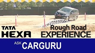 Download TATA HEXA Rough Drive experience by CARGURU, Tough & torture My Way. Video