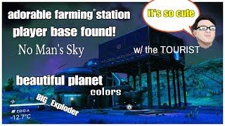 Download Adorable Farm Player Base Found w/ the TOURIST No Man's Sky Pretty Video