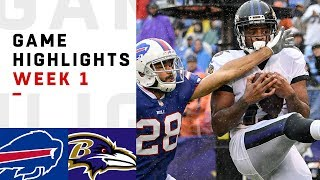 Download Bills vs. Ravens Week 1 Highlights | NFL 2018 Video