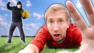Download HACKER BATTLES ME on Scavenger Hunt Searching Minerals (Project Zorgo Battle Royale in Real Life) Video