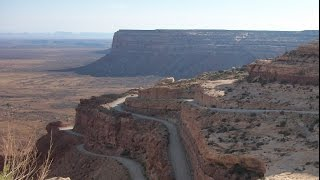 Download Harley Davidson road trip moki dugway utah highway 261 motorcycle ride Video