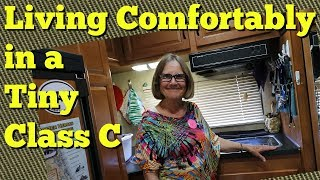 Download Living Comfortably in a Tiny Class C- Tour with Pixie Video