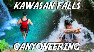 Download Kawasan Falls Canyoneering (EPIC CLIFF JUMPS & FLIPS) - Philippines Travel Vlog Video