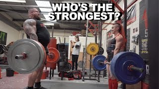 Download Worlds Strongest Man .VS. Worlds Strongest Women! Video